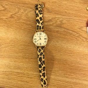 Betray Johnson cheetah watch